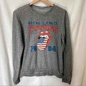 XXI - The Rolling Stones 1994 Logo Band Pullover